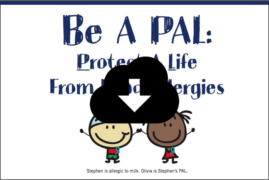 Be a PAL Food Allergy Poster
