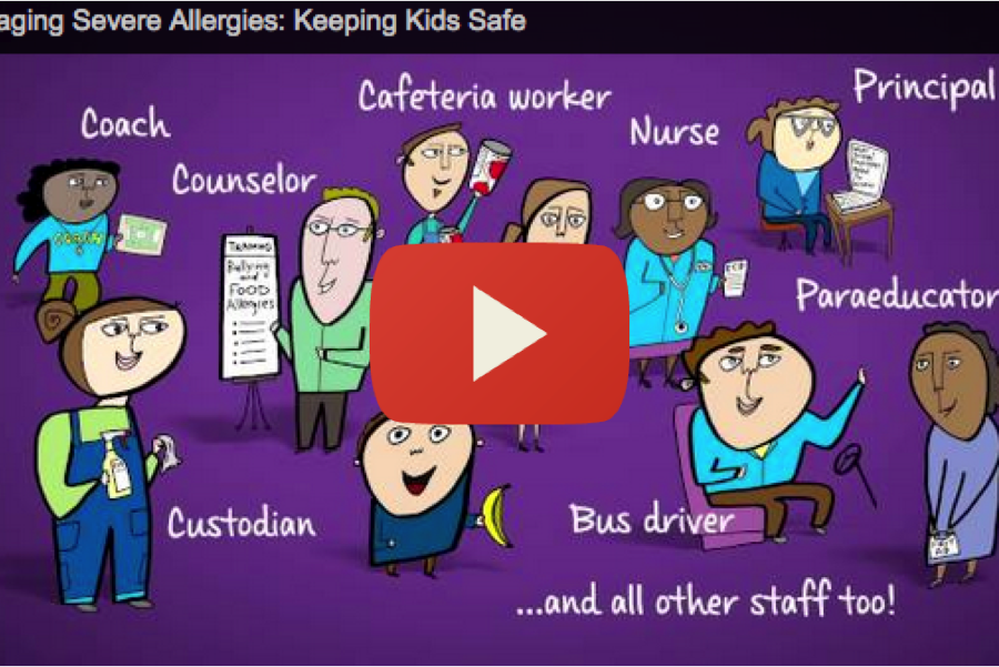 Managing Severe Allergies- Keeping Students Safe