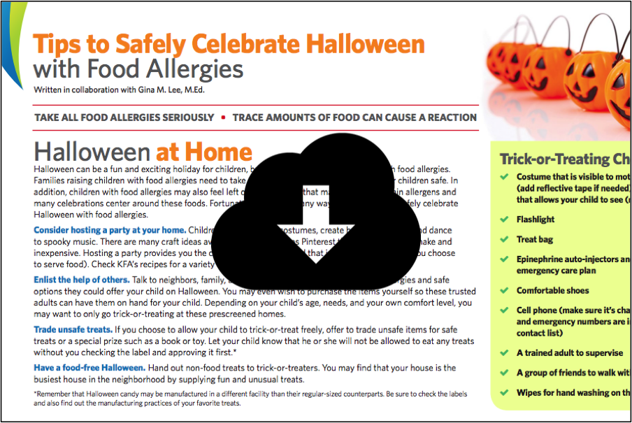 Tips to Safely Celebrate Holidays with Food Allergies